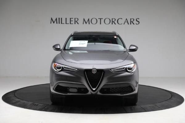 New 2021 Alfa Romeo Stelvio Q4 for sale $50,445 at Bugatti of Greenwich in Greenwich CT 06830 12