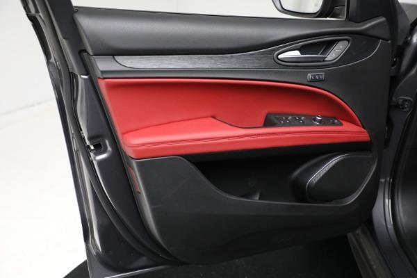 New 2021 Alfa Romeo Stelvio Q4 for sale $50,445 at Bugatti of Greenwich in Greenwich CT 06830 16