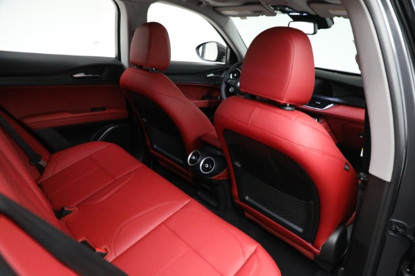 New 2021 Alfa Romeo Stelvio Q4 for sale $50,445 at Bugatti of Greenwich in Greenwich CT 06830 21