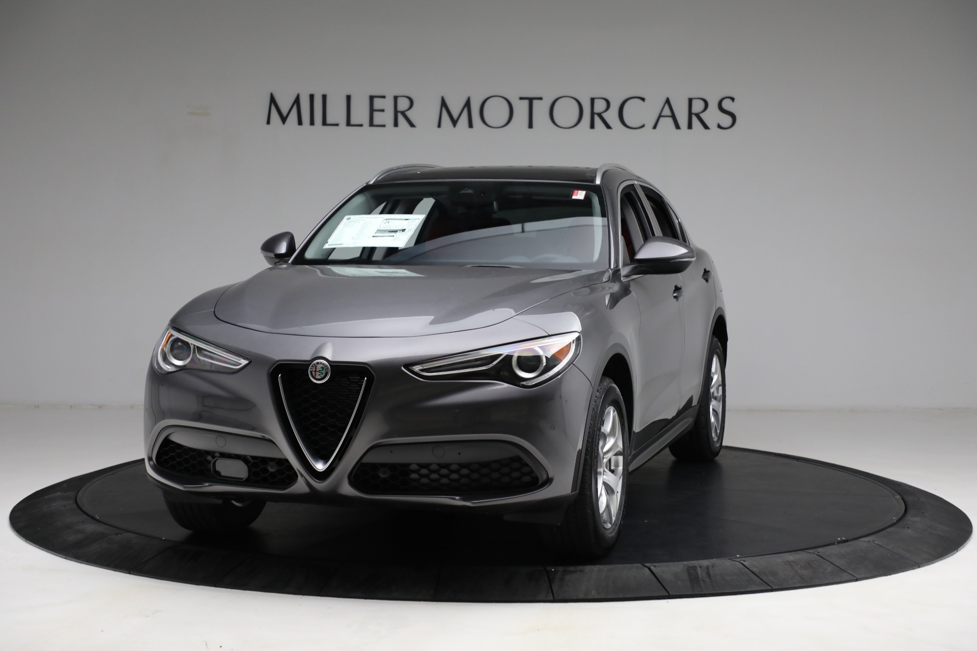 New 2021 Alfa Romeo Stelvio Q4 for sale $50,445 at Bugatti of Greenwich in Greenwich CT 06830 1