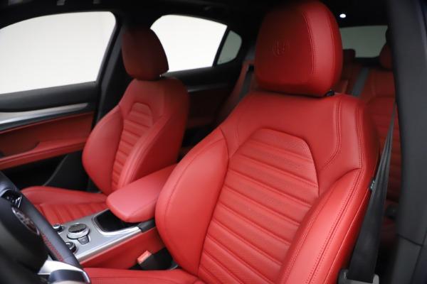 New 2021 Alfa Romeo Stelvio Ti Sport Q4 for sale $57,200 at Bugatti of Greenwich in Greenwich CT 06830 16