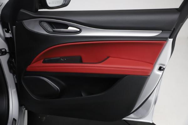 New 2021 Alfa Romeo Stelvio Ti Sport Q4 for sale $57,200 at Bugatti of Greenwich in Greenwich CT 06830 23