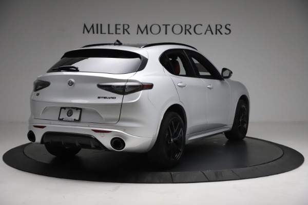 New 2021 Alfa Romeo Stelvio Ti Sport Q4 for sale $57,200 at Bugatti of Greenwich in Greenwich CT 06830 7