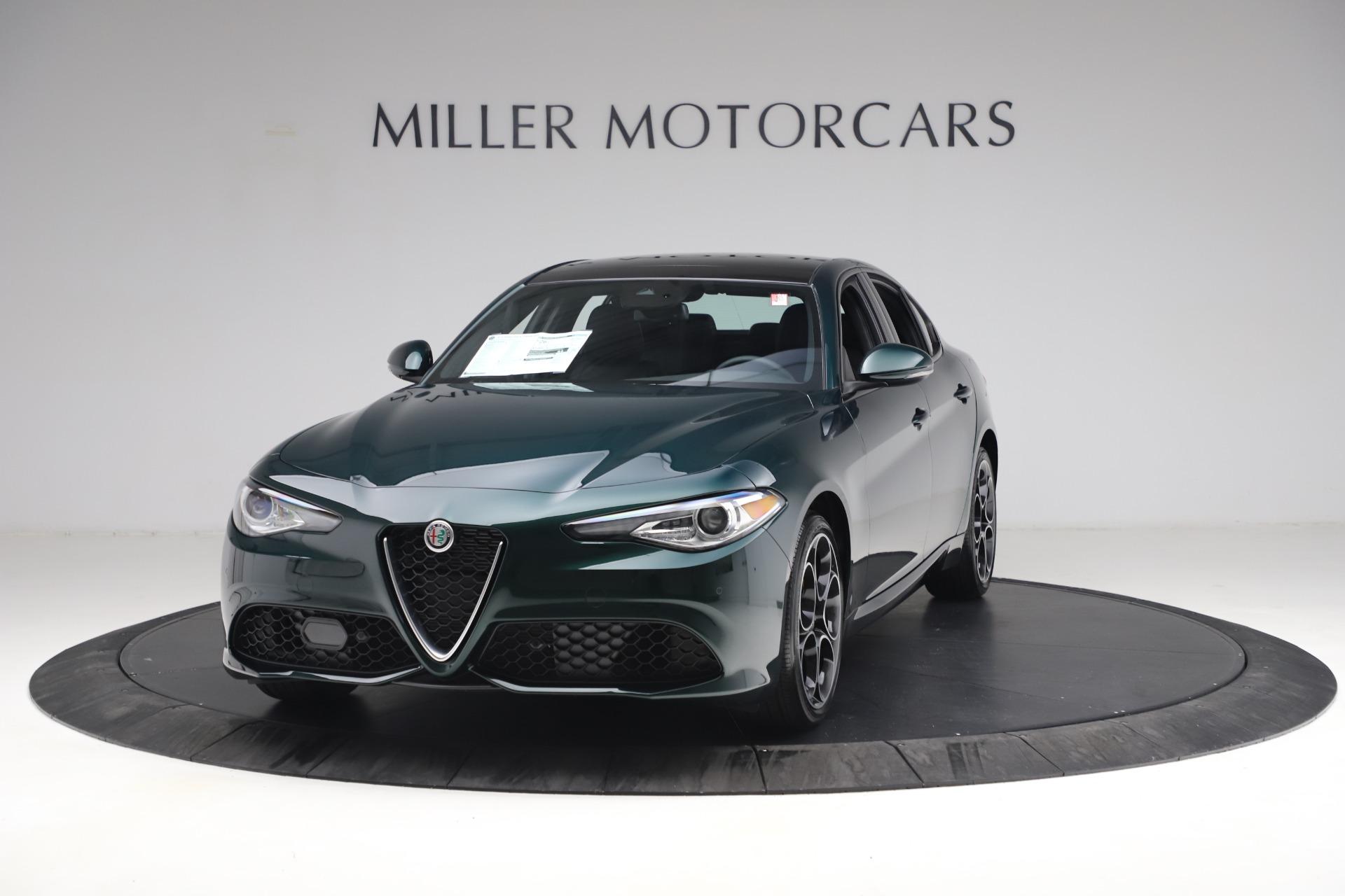 New 2021 Alfa Romeo Giulia Ti Sport Q4 for sale $53,050 at Bugatti of Greenwich in Greenwich CT 06830 1