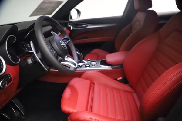 New 2021 Alfa Romeo Stelvio Ti Sport Q4 for sale $54,095 at Bugatti of Greenwich in Greenwich CT 06830 15