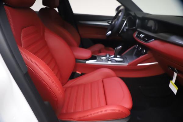 New 2021 Alfa Romeo Stelvio Ti Sport Q4 for sale $54,095 at Bugatti of Greenwich in Greenwich CT 06830 23