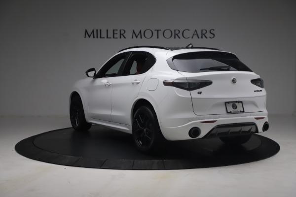 New 2021 Alfa Romeo Stelvio Ti Sport Q4 for sale $54,095 at Bugatti of Greenwich in Greenwich CT 06830 6