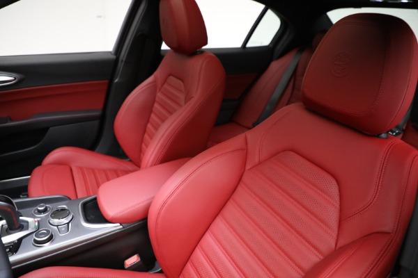New 2021 Alfa Romeo Giulia Ti Sport Q4 for sale $54,050 at Bugatti of Greenwich in Greenwich CT 06830 15