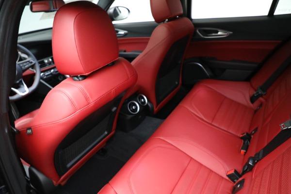 New 2021 Alfa Romeo Giulia Ti Sport Q4 for sale $54,050 at Bugatti of Greenwich in Greenwich CT 06830 17