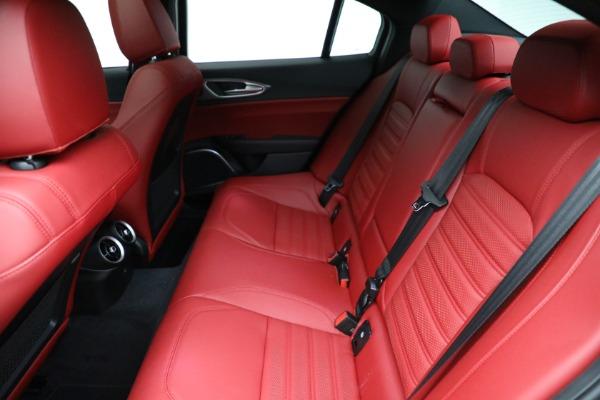 New 2021 Alfa Romeo Giulia Ti Sport Q4 for sale $54,050 at Bugatti of Greenwich in Greenwich CT 06830 19