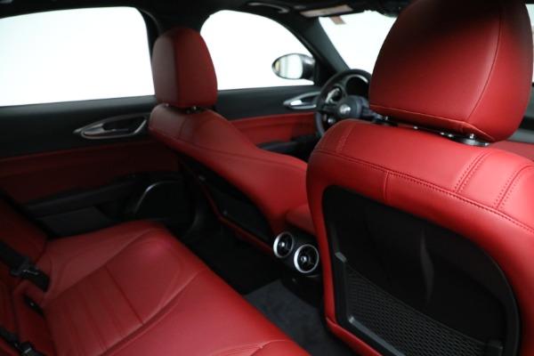New 2021 Alfa Romeo Giulia Ti Sport Q4 for sale $54,050 at Bugatti of Greenwich in Greenwich CT 06830 22