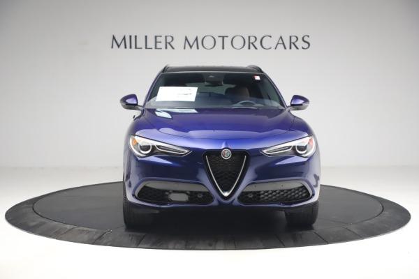 New 2021 Alfa Romeo Stelvio Ti Sport Q4 for sale $55,700 at Bugatti of Greenwich in Greenwich CT 06830 12