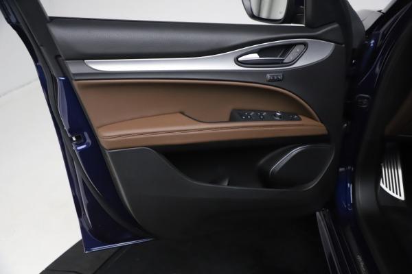 New 2021 Alfa Romeo Stelvio Ti Sport Q4 for sale $55,700 at Bugatti of Greenwich in Greenwich CT 06830 15