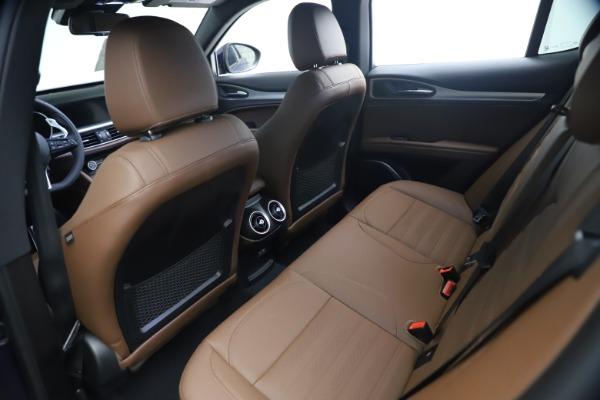New 2021 Alfa Romeo Stelvio Ti Sport Q4 for sale $55,700 at Bugatti of Greenwich in Greenwich CT 06830 16