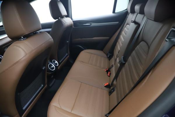 New 2021 Alfa Romeo Stelvio Ti Sport Q4 for sale $55,700 at Bugatti of Greenwich in Greenwich CT 06830 17