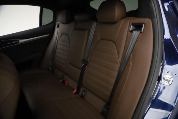 New 2021 Alfa Romeo Stelvio Ti Sport Q4 for sale $55,700 at Bugatti of Greenwich in Greenwich CT 06830 18