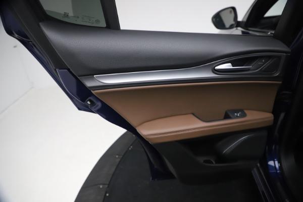 New 2021 Alfa Romeo Stelvio Ti Sport Q4 for sale $55,700 at Bugatti of Greenwich in Greenwich CT 06830 19