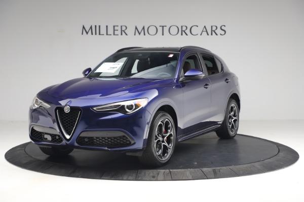 New 2021 Alfa Romeo Stelvio Ti Sport Q4 for sale $55,700 at Bugatti of Greenwich in Greenwich CT 06830 2