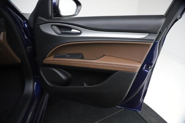 New 2021 Alfa Romeo Stelvio Ti Sport Q4 for sale $55,700 at Bugatti of Greenwich in Greenwich CT 06830 22