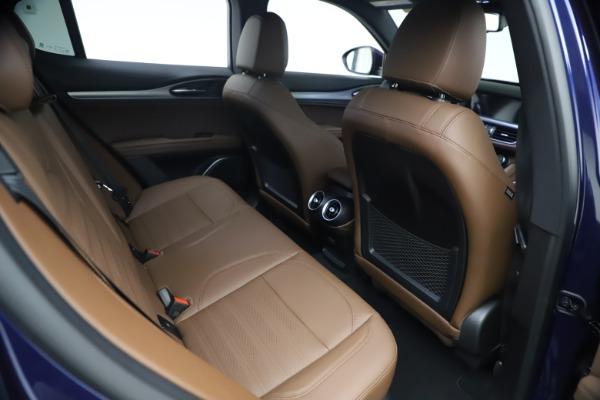 New 2021 Alfa Romeo Stelvio Ti Sport Q4 for sale $55,700 at Bugatti of Greenwich in Greenwich CT 06830 23