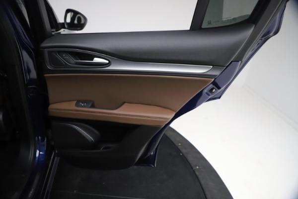 New 2021 Alfa Romeo Stelvio Ti Sport Q4 for sale $55,700 at Bugatti of Greenwich in Greenwich CT 06830 25