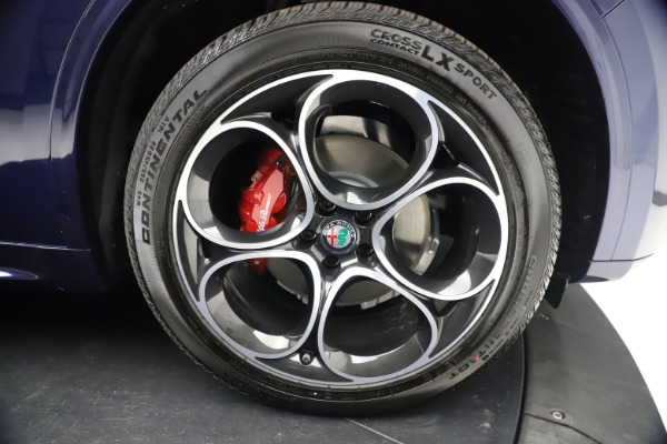 New 2021 Alfa Romeo Stelvio Ti Sport Q4 for sale $55,700 at Bugatti of Greenwich in Greenwich CT 06830 26
