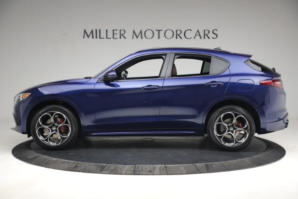 New 2021 Alfa Romeo Stelvio Ti Sport Q4 for sale $55,700 at Bugatti of Greenwich in Greenwich CT 06830 3