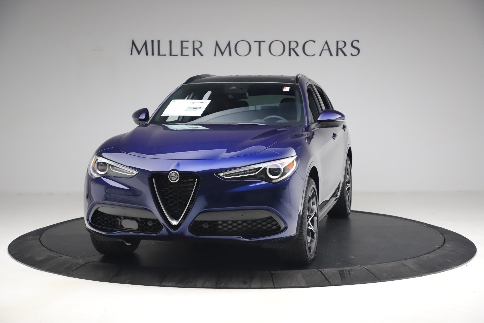 New 2021 Alfa Romeo Stelvio Ti Sport Q4 for sale $55,700 at Bugatti of Greenwich in Greenwich CT 06830 1