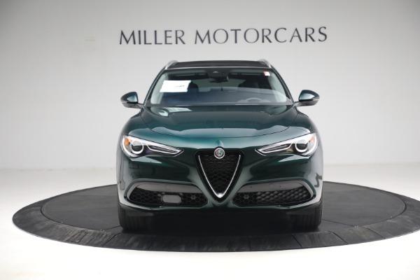 New 2021 Alfa Romeo Stelvio Q4 for sale $50,445 at Bugatti of Greenwich in Greenwich CT 06830 14