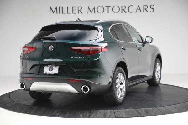 New 2021 Alfa Romeo Stelvio Q4 for sale $50,445 at Bugatti of Greenwich in Greenwich CT 06830 7