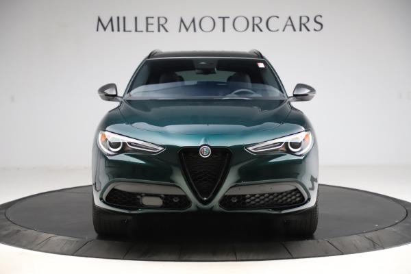 New 2021 Alfa Romeo Stelvio Ti Sport Q4 for sale $57,200 at Bugatti of Greenwich in Greenwich CT 06830 13
