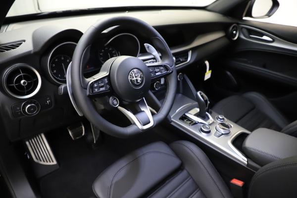 New 2021 Alfa Romeo Stelvio Ti Sport Q4 for sale $57,200 at Bugatti of Greenwich in Greenwich CT 06830 14