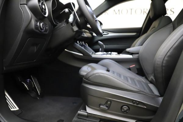 New 2021 Alfa Romeo Stelvio Ti Sport Q4 for sale $57,200 at Bugatti of Greenwich in Greenwich CT 06830 15