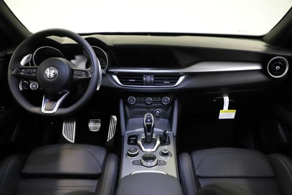 New 2021 Alfa Romeo Stelvio Ti Sport Q4 for sale $57,200 at Bugatti of Greenwich in Greenwich CT 06830 17