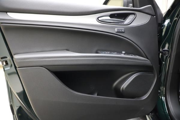 New 2021 Alfa Romeo Stelvio Ti Sport Q4 for sale $57,200 at Bugatti of Greenwich in Greenwich CT 06830 18