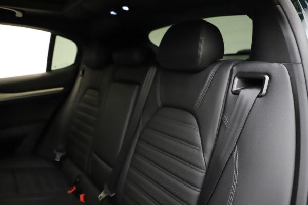 New 2021 Alfa Romeo Stelvio Ti Sport Q4 for sale $57,200 at Bugatti of Greenwich in Greenwich CT 06830 19