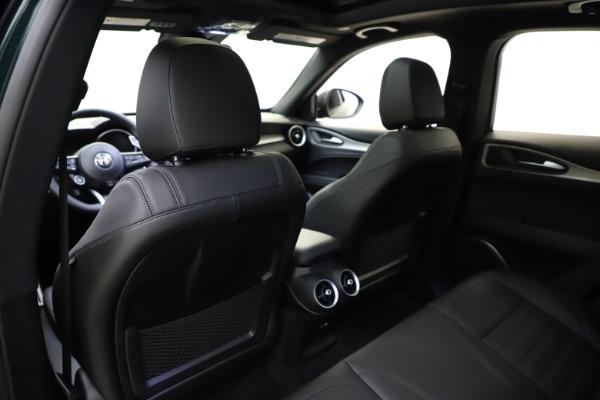 New 2021 Alfa Romeo Stelvio Ti Sport Q4 for sale $57,200 at Bugatti of Greenwich in Greenwich CT 06830 21