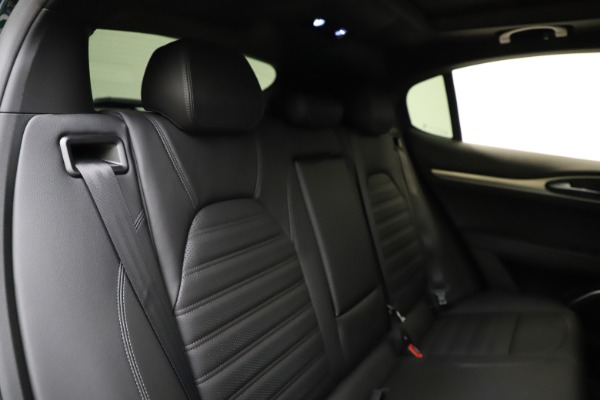 New 2021 Alfa Romeo Stelvio Ti Sport Q4 for sale $57,200 at Bugatti of Greenwich in Greenwich CT 06830 27