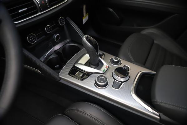 New 2021 Alfa Romeo Stelvio Ti Sport Q4 for sale Sold at Bugatti of Greenwich in Greenwich CT 06830 18