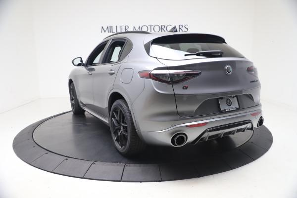 New 2021 Alfa Romeo Stelvio Ti Sport Q4 for sale Sold at Bugatti of Greenwich in Greenwich CT 06830 5