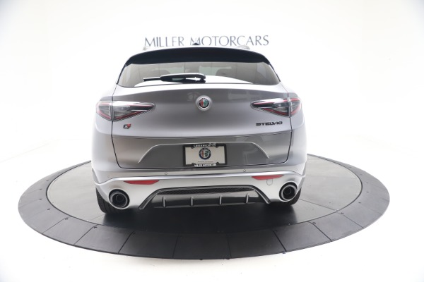 New 2021 Alfa Romeo Stelvio Ti Sport Q4 for sale Sold at Bugatti of Greenwich in Greenwich CT 06830 6