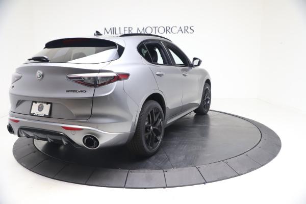 New 2021 Alfa Romeo Stelvio Ti Sport Q4 for sale Sold at Bugatti of Greenwich in Greenwich CT 06830 7