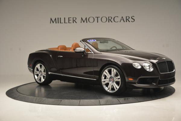 Used 2013 Bentley Continental GTC V8 for sale Sold at Bugatti of Greenwich in Greenwich CT 06830 10