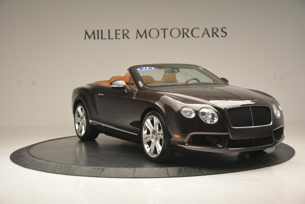 Used 2013 Bentley Continental GTC V8 for sale Sold at Bugatti of Greenwich in Greenwich CT 06830 11