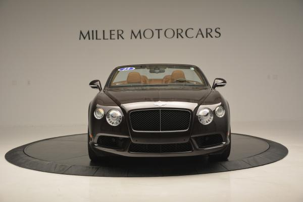 Used 2013 Bentley Continental GTC V8 for sale Sold at Bugatti of Greenwich in Greenwich CT 06830 12