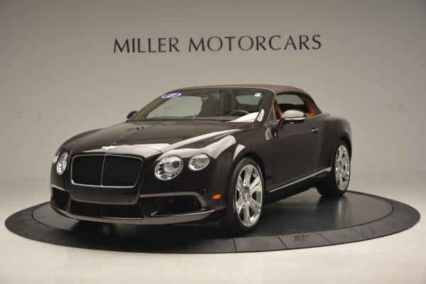 Used 2013 Bentley Continental GTC V8 for sale Sold at Bugatti of Greenwich in Greenwich CT 06830 14
