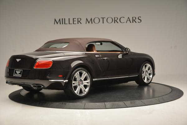 Used 2013 Bentley Continental GTC V8 for sale Sold at Bugatti of Greenwich in Greenwich CT 06830 21