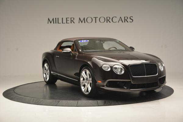 Used 2013 Bentley Continental GTC V8 for sale Sold at Bugatti of Greenwich in Greenwich CT 06830 24