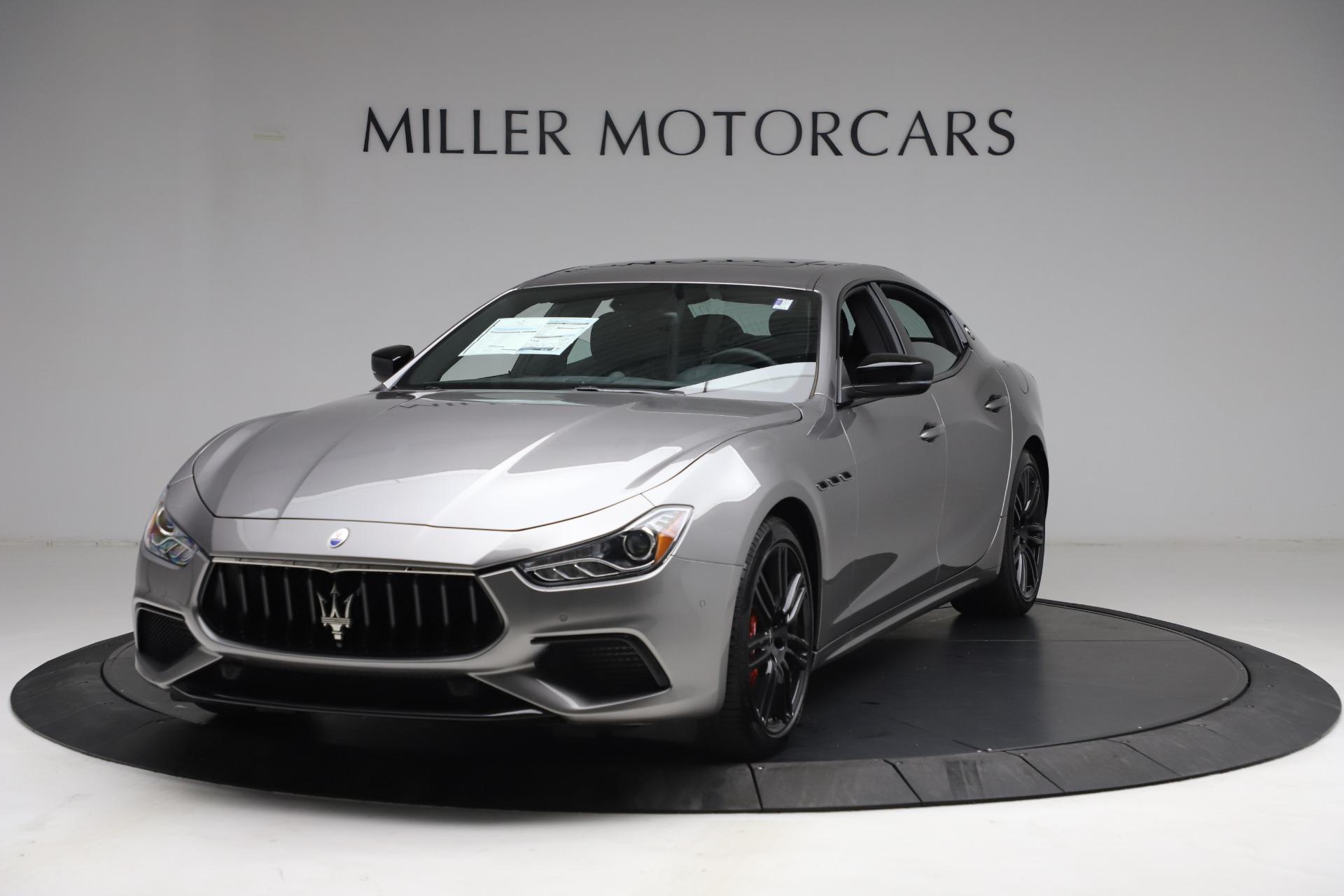 New 2021 Maserati Ghibli S Q4 for sale $90,075 at Bugatti of Greenwich in Greenwich CT 06830 1