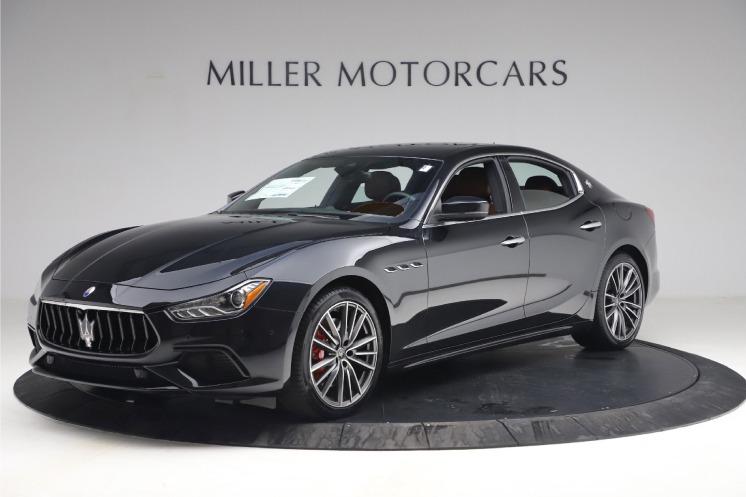 New 2021 Maserati Ghibli S Q4 for sale $89,775 at Bugatti of Greenwich in Greenwich CT 06830 1